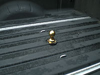 gooseneck trailer hitch in pickup bed