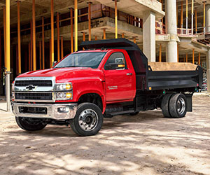 Chevy Silverado 4500 HD medium duty truck