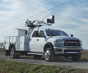 2020 Ram chassis cab bucket truck