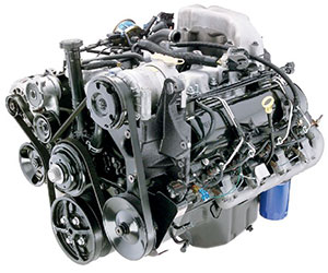 6.5L GM diesel engine