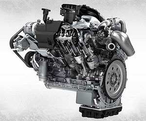 6.7L Power Stroke diesel engine