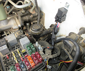 6.5L diesel ops/fuel pump relay