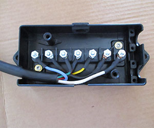 Trailer wire junction box