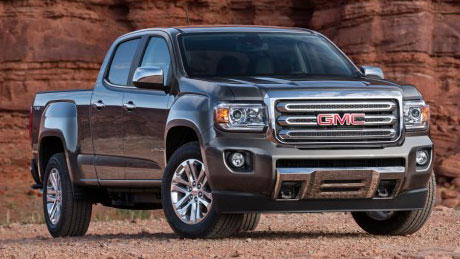 2015 GMC Canyon equipped with Duramax diesel