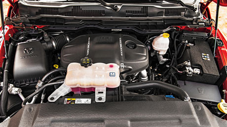 3.0L EcoDiesel engine bay