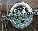 6.7L Power Stroke badge