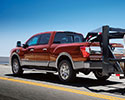 Nissan Titan XD towing