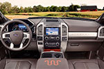 2017 Super Duty King Ranch interior