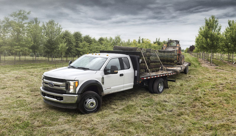 2017 Super Duty Chis Cab Flatbed