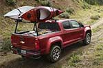 Chevrolet Colorado, red