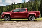Red Chevy Colorado
