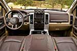 Ram Long Hauler leather interior