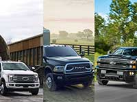 Ford, Ram, GM pickups