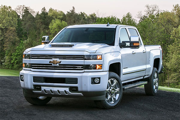 2017 Chevy Silverado 2500 HD
