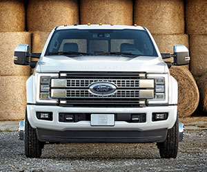2017 all aluminum Ford Super Duty