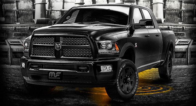 Blacked Out Ram >> Ram S Blacked Out Edition Extended To 2500 3500 Models