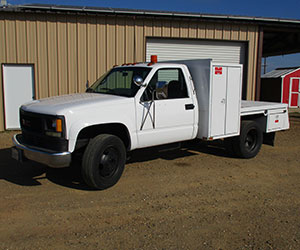 GMC C3500HD chassis cab