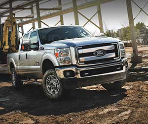 2013 Ford Super Duty towing