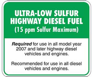 Ultra Low Sulfur Diesel