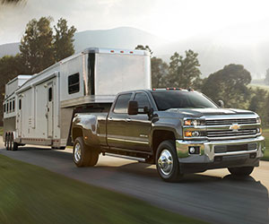 Chevrolet Silverado 3500 towing