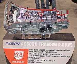 Aisin AS68RC automatic transmission