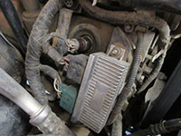 ICP sensor in valve cover