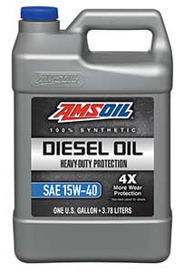 Amsoil heavy duty diesel oil