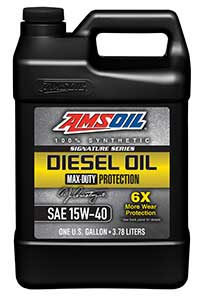 Amsoil Signature series diesel oil