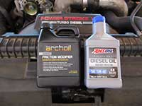 Archoil and Amsoil diesel oil