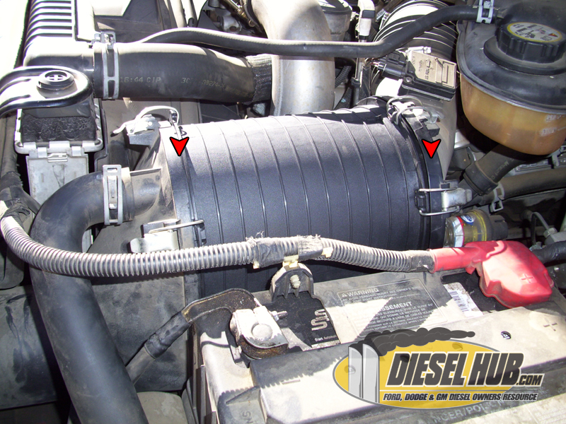 6 0 powerstroke fuel filter change 6 0l power stroke air filter replacement procedures  6 0l power stroke air filter