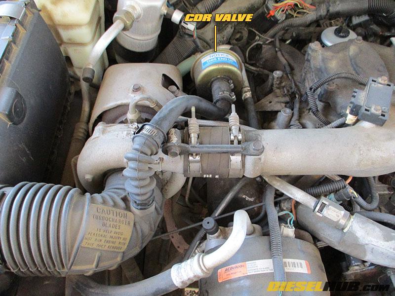 6 5l Gm Diesel Cdr Valve Replacement Procedures