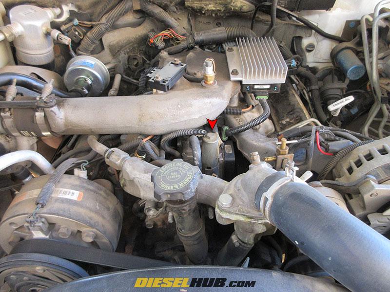 6 5L GM Diesel Fuel Shutoff Solenoid Diagnostic