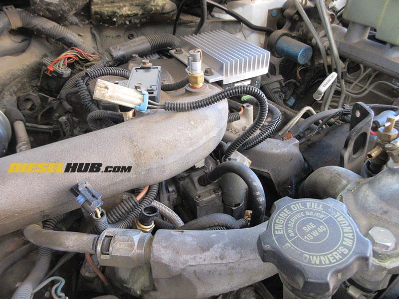 6 5l Gm Diesel Fuel Shutoff Solenoid Diagnostic Replacement Procedures