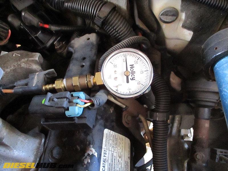 6 5L GM Diesel Wastegate Solenoid Troubleshooting