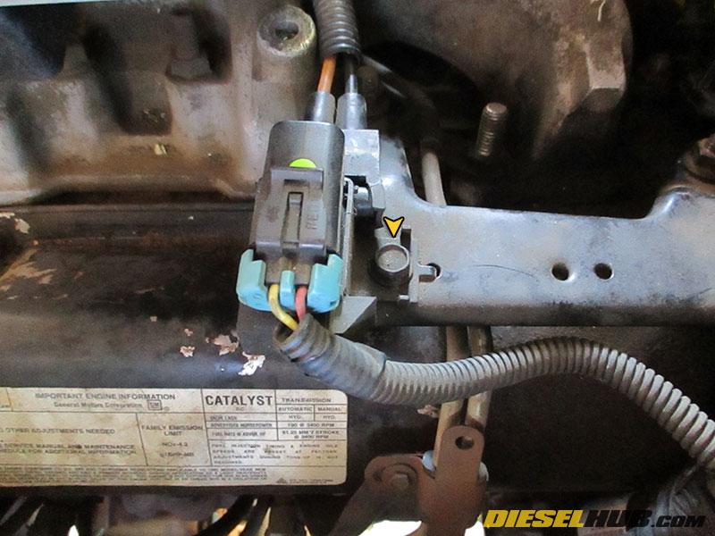 6 5l Gm Diesel Wastegate Solenoid Troubleshooting Replacement Procedures