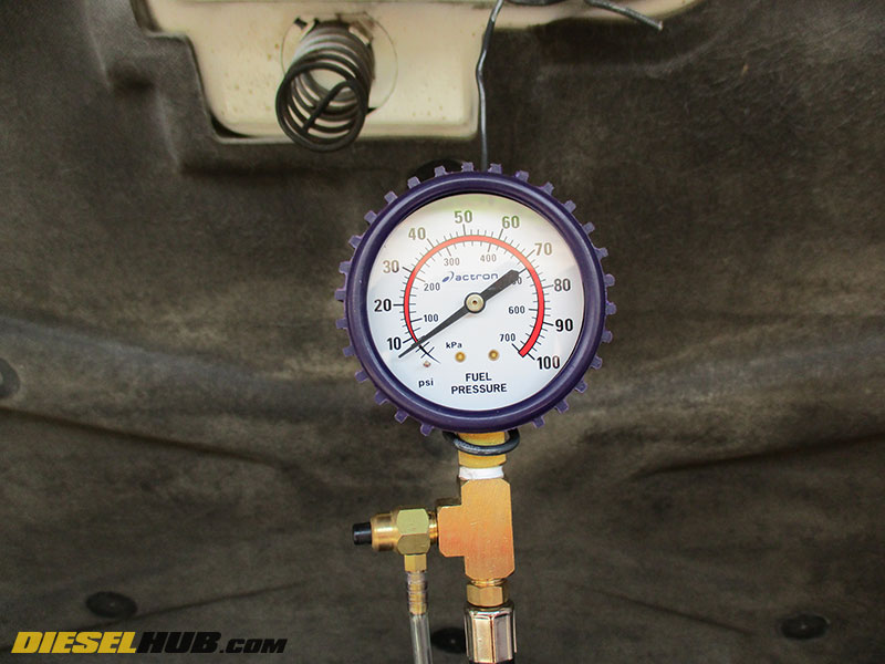6 5L GM Diesel Fuel Pressure Test & Fuel System Troubleshooting Guide
