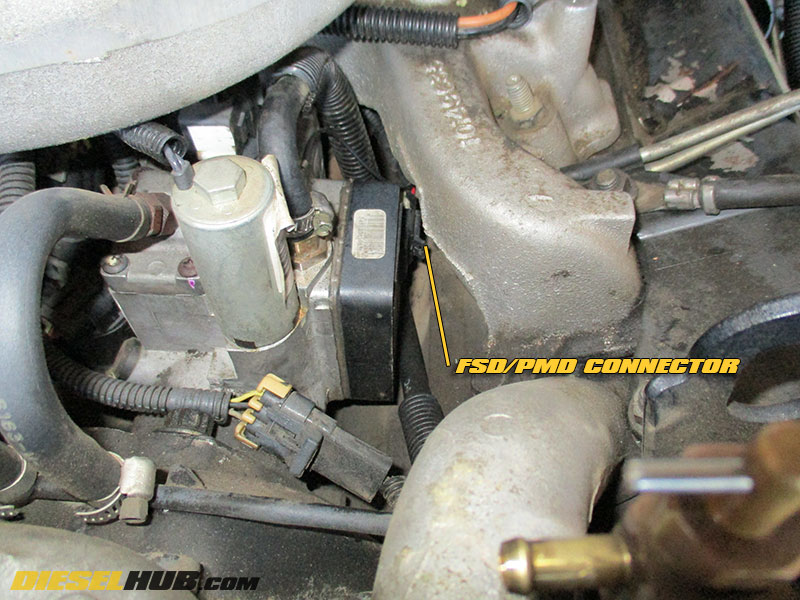 6 5L GM Diesel PMD/FSD Replacement & Relocation Information