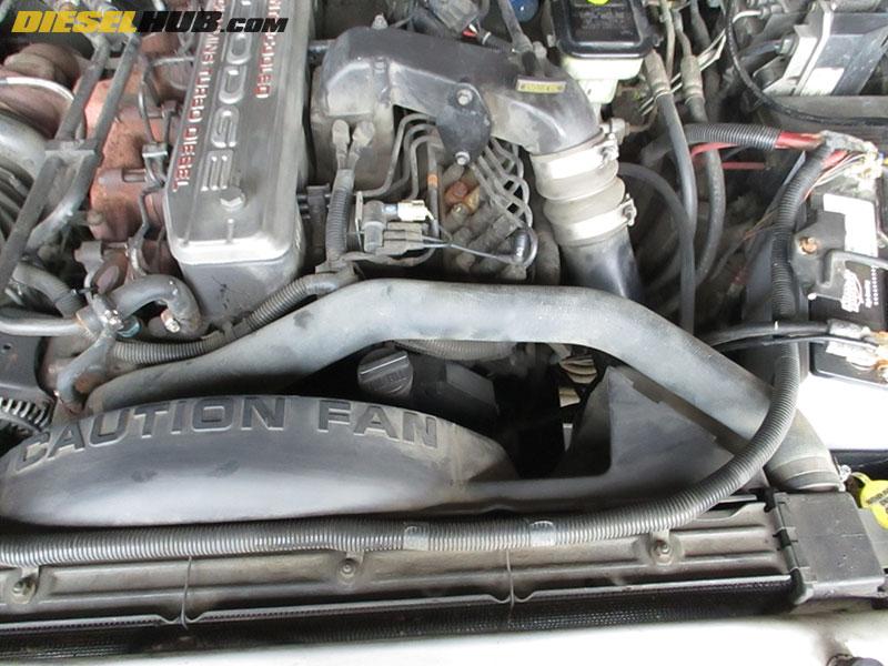 2005 dodge ram 2500 diesel radiator replacement