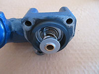 Outer thermostat housing gasket