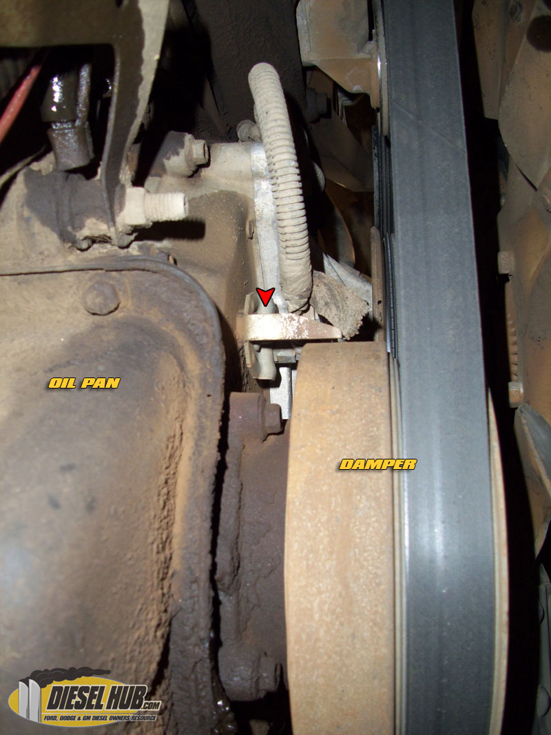 73l Power Stroke Cam Position Sensor Cps Replacement Guide 1999 F350 7 3 Fuse Diagram 73 Powerstroke Location