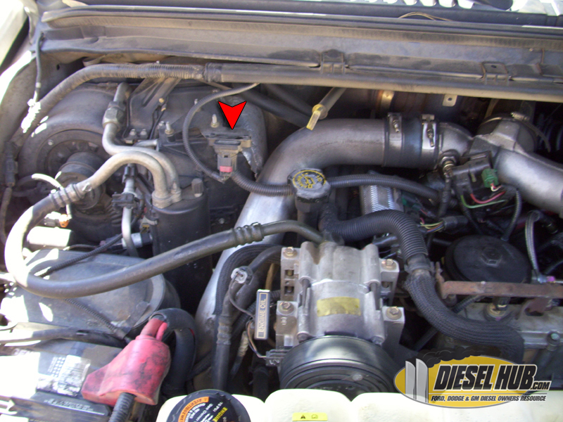 on Ford 7 3 Powerstroke Map Sensor Location