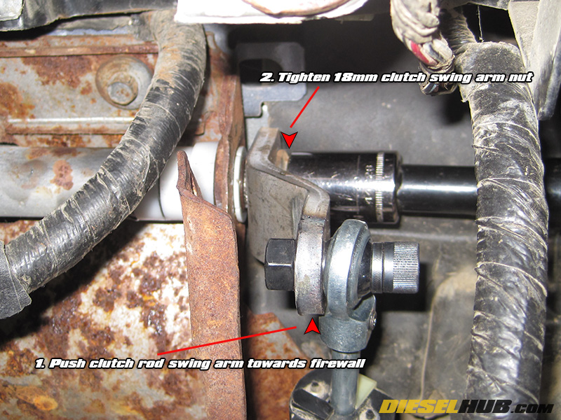 19921997 Fseries Clutch Pedal Bushing Replacement. Reinstallation Of The Master Cylinder And Pushrod. Ford. 97 Ford F150 Master Cylinder Diagram At Scoala.co