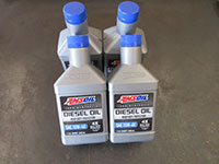 Amsoil 15W-40 engine oil