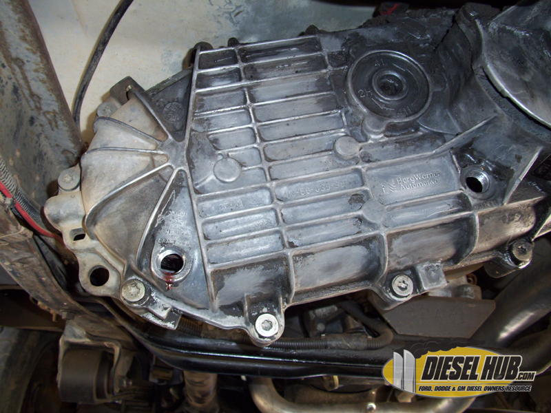 BW1356 Transfer Case Fluid Replacement Procedures