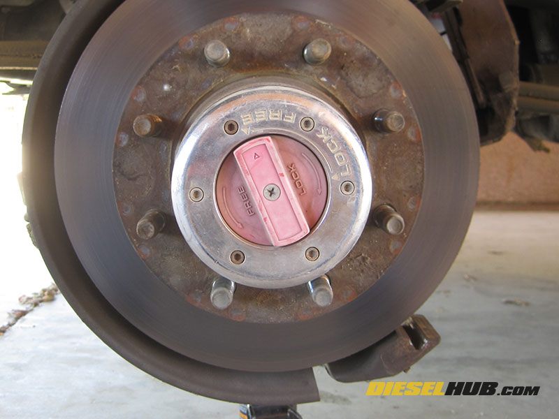 Dana 50 Ttb Warm Manual Hub Conversion Guide. Oem Locking Hubs. GM. GM 10 Bolt Locking Hub Diagram At Scoala.co
