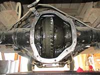 Dana 80 with cover removed