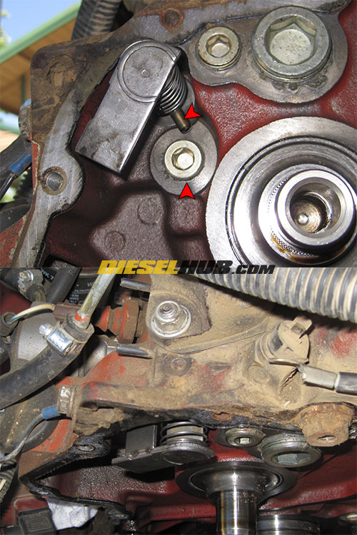 Deutz 1011 Series Fuel Control Rod Replacement Procedures