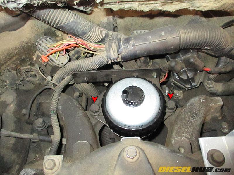 loosening fuel filter housing (ffm)