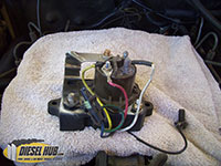 Glow plug controller removal