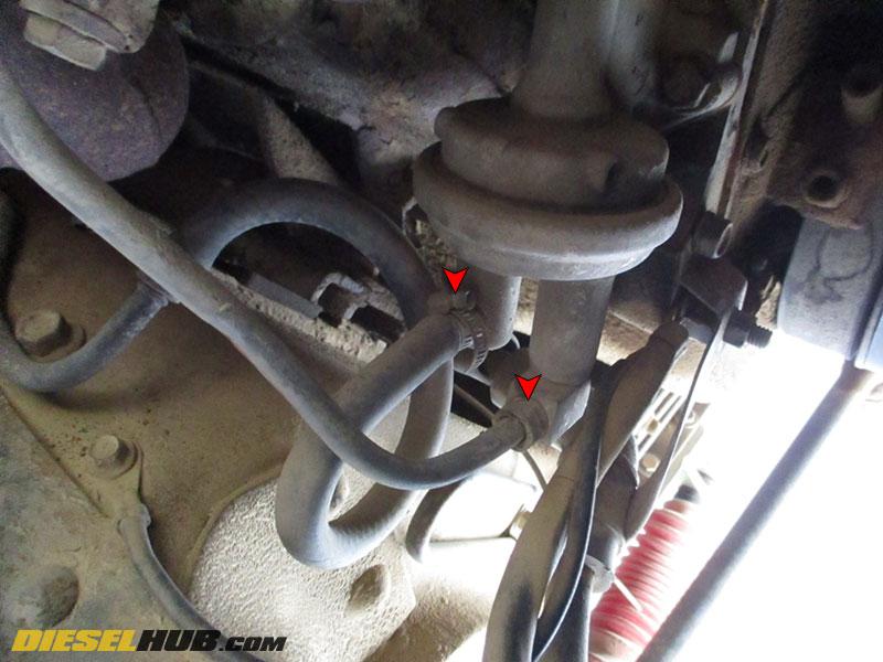 83-94 Ford 6.9 7.3 International Diesel Engine Fuel Lift Pump Engine Mounted